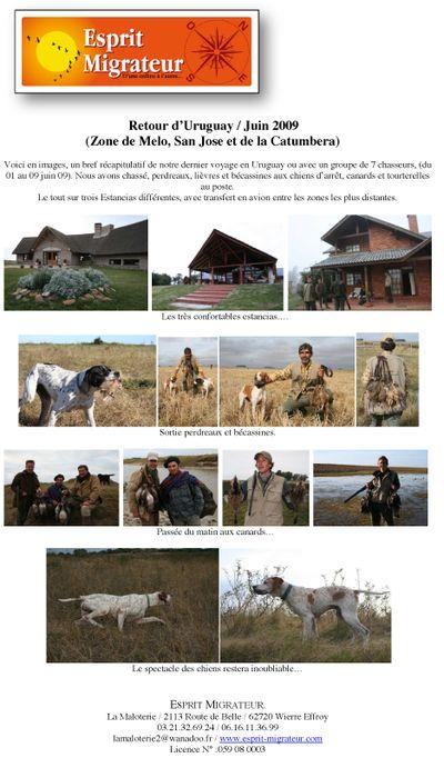 Retour Uruguay juin 2009-1